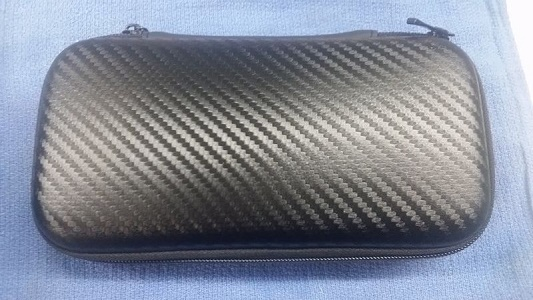 Black Carbon Fiber Case
